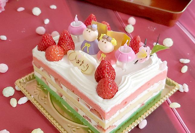 ウィシュトンホテル レ・リアン【ひなまつりケーキ】
